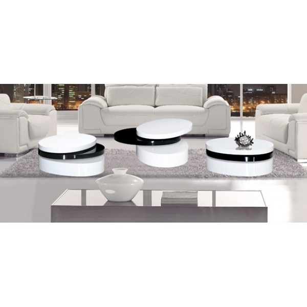 Stunning Unique Oval Gloss Coffee Tables Regarding High Gloss Coffee Table Idi Design (View 21 of 40)