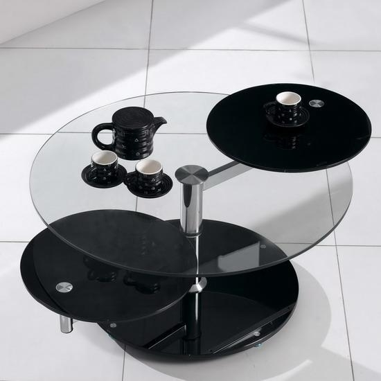 Stunning Unique Revolving Glass Coffee Tables With Rotating Coffee Table Idi Design (Image 34 of 40)