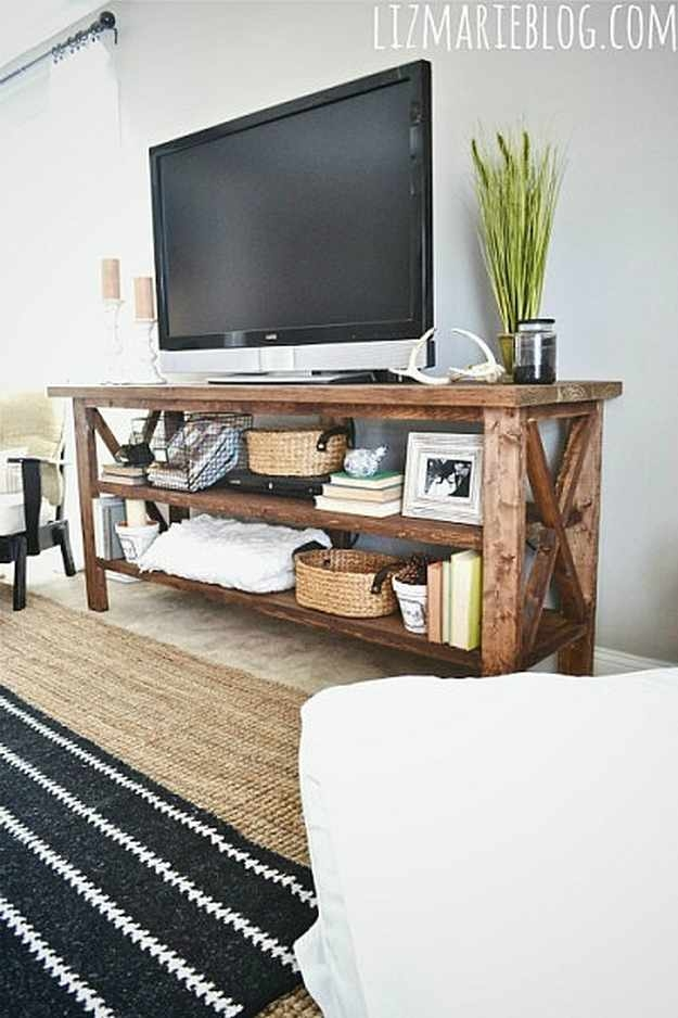 Stunning Unique Rustic Furniture TV Stands Within Rustic Furniture Projects Diy Projects Craft Ideas How Tos For (Image 45 of 50)