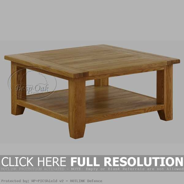 Stunning Unique Square Oak Coffee Tables For Square Coffee Table Plateau Tcs Square Coffee Table In Black On (View 3 of 50)