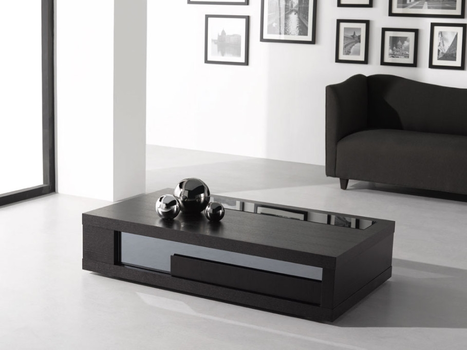 Stunning Unique White And Black Coffee Tables Regarding Modern Black Coffee Tables Table And Estate (Image 33 of 40)