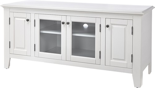 Stunning Unique White TV Stands Pertaining To Insignia Tv Stand For Most Tvs Up To 60 White Ns Hwg1655w Best Buy (View 48 of 50)