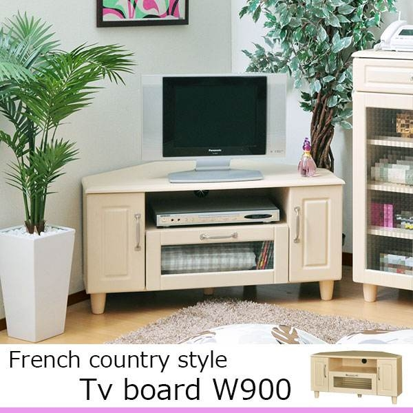 Stunning Variety Of French Country TV Stands Intended For Atom Style Rakuten Global Market Tv Stand Lowboard Corner (View 23 of 50)