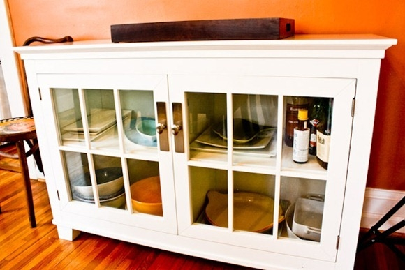 Stunning Variety Of Glass Front TV Stands With Regard To Home Neat Home Dishes Kath Eats Real Food (Image 45 of 50)