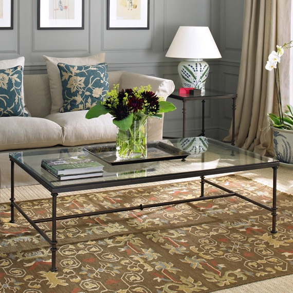 Stunning Variety Of Glass Metal Coffee Tables In Metal Coffee Table (Photo 43 of 50)