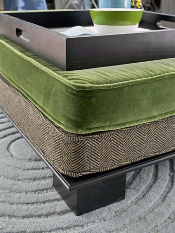 Stunning Variety Of Green Ottoman Coffee Tables For 10 Awesome Diy Ottoman Ideas (Image 45 of 50)