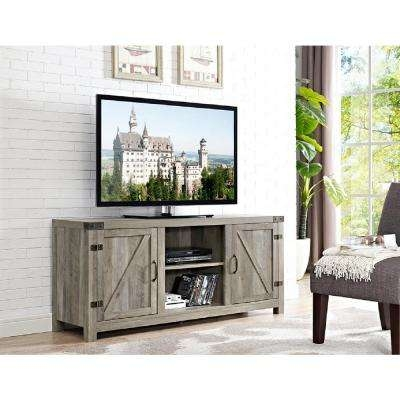 Stunning Variety Of Grey TV Stands Throughout Gray Tv Stands Living Room Furniture The Home Depot (Image 47 of 50)