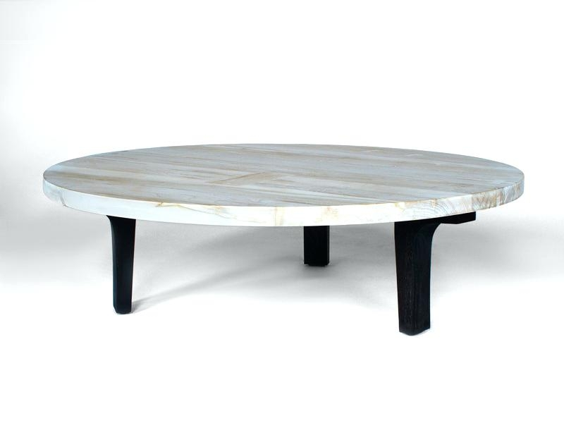 Stunning Variety Of Large Round Low Coffee Tables In Black And White Coffee Tables Blackbeardesignco (View 36 of 50)