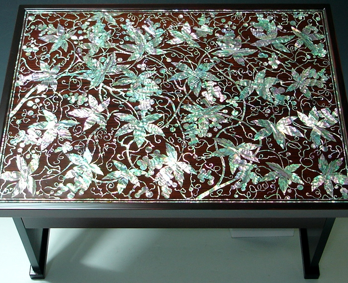Stunning Variety Of Mother Of Pearl Coffee Tables In Mother Of Pearl Coffee Table Decor With Lacquer Ash Wood Grape (View 19 of 50)
