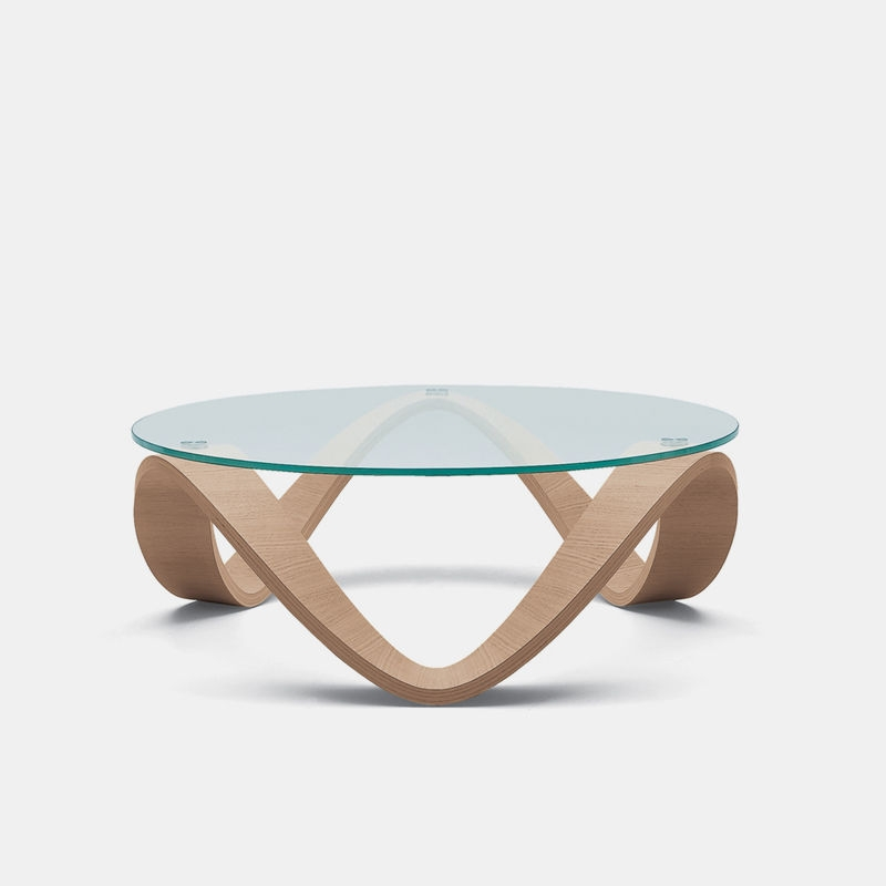 Stunning Variety Of Oak And Glass Coffee Tables For Contemporary Coffee Table Glass Oak Lacquered Wood Sumo (Image 46 of 50)