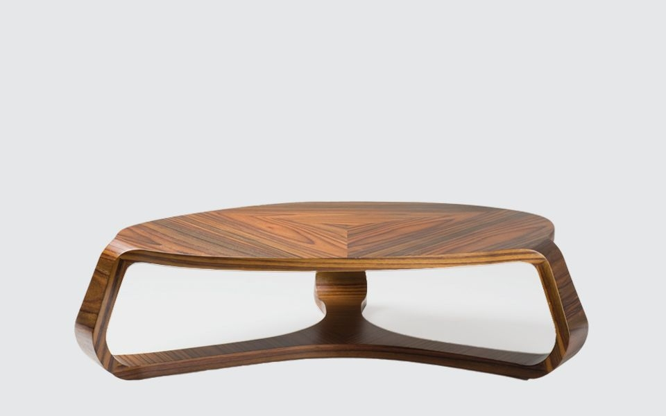 Stunning Variety Of Oval Wooden Coffee Tables With Regard To Contemporary Coffee Table Wooden Oval Contract Alvo (Image 42 of 50)