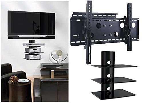 Stunning Variety Of TV Stands Over Cable Box With Regard To Under Tv Wall Shelf Arlene Designs (Image 44 of 50)