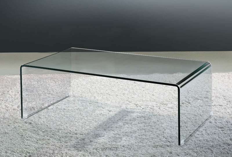 Stunning Wellknown All Glass Coffee Tables Regarding Viva Modern (View 7 of 50)