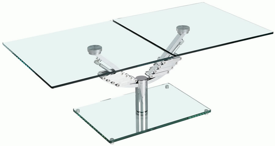 Stunning Well Known All Glass Coffee Tables Throughout All Glass Modern Coffee Table Glass Modern Coffee Table White (Image 43 of 50)