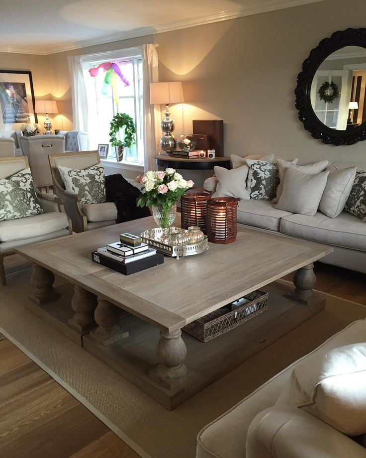 Stunning Well Known Big Square Coffee Tables In Living Room The Furniture Simple Big Square Coffee Tables Designs (Image 48 of 50)