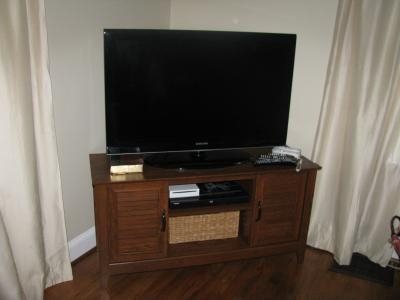 Stunning Well Known Cherry TV Stands Inside Tv Stand Entertainment Center Media Console Furniture Storage Wood (Image 46 of 50)