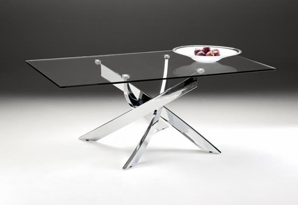 Stunning Wellknown Chrome Glass Coffee Tables For Square Chrome And Glass Coffee Table Coffee Tables Zone (Image 46 of 50)