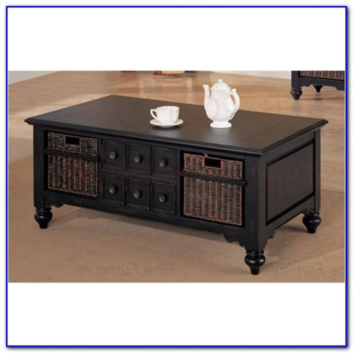 Stunning Well Known Coffee Tables With Baskets Underneath Within Coffee Table With Basket Storage Underneath Coffee Table Home (Image 38 of 40)