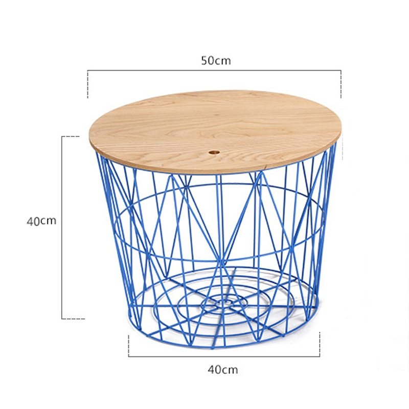 Stunning Wellknown Coffee Tables With Magazine Storage Throughout Aliexpress Buy 20 Inch Round Magazine Storage Wire Coffee (Image 44 of 50)