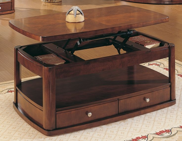 Stunning Well Known Coffee Tables With Raisable Top Inside Top 25 Best Lift Top Coffee Table Ideas On Pinterest Used (View 31 of 50)