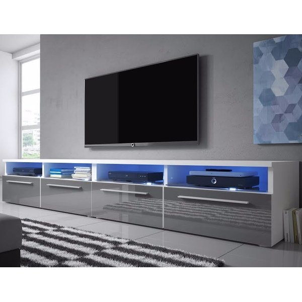 Stunning Well Known Double TV Stands Intended For Selsey Living Siena Double Tv Stand For Tvs Up To 70 Reviews (Image 47 of 50)