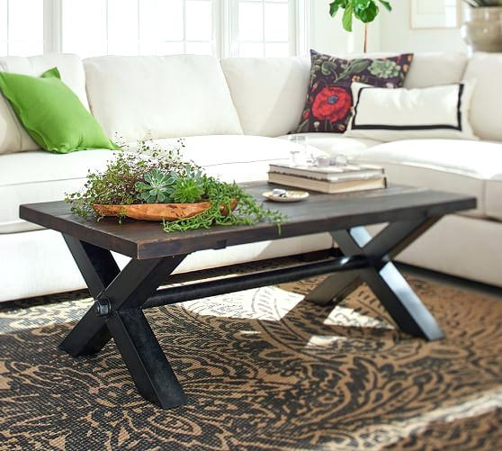 Stunning Well Known Griffin Coffee Tables Throughout Pottery Barn Griffin Coffee Table Diy Coffee Tables Pottery Barn (View 39 of 50)