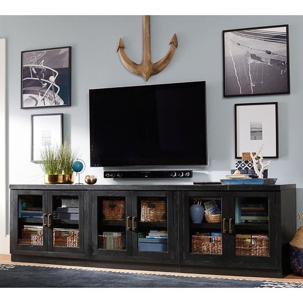 Stunning Wellknown Long Black TV Stands Regarding Top 25 Best Long Tv Stand Ideas On Pinterest Diy Entertainment (View 3 of 50)