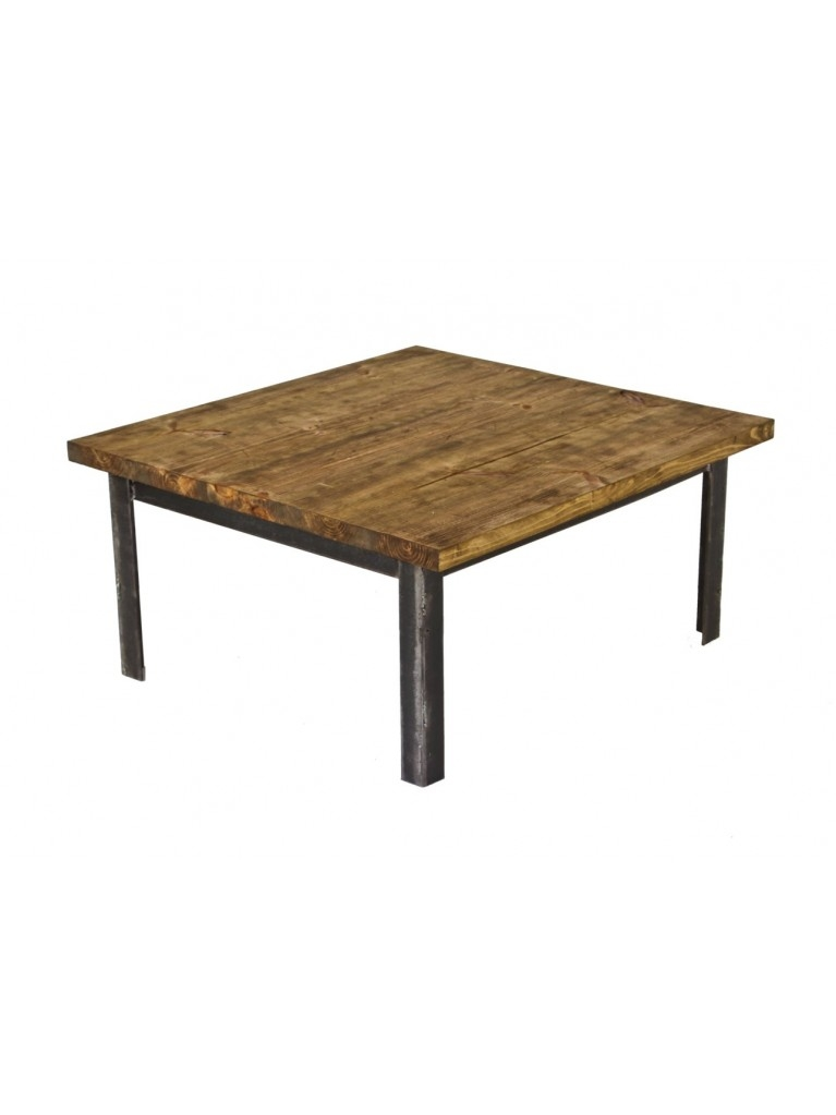 Stunning Wellknown Low Industrial Coffee Tables  Throughout Reconfigured C 1930s Vintage American Industrial Four Legged (Image 39 of 40)