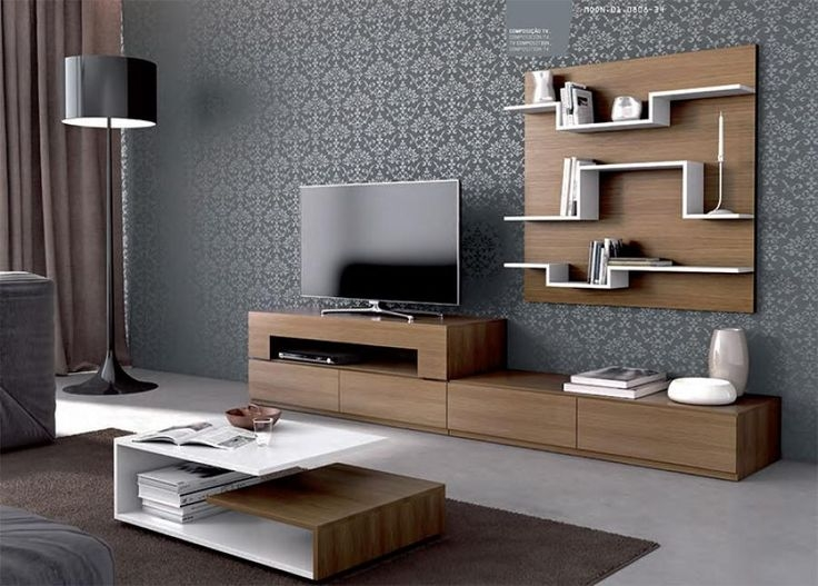 Stunning Well Known Modern TV Cabinets With Regard To 32 Best Lcd Tv Cabinets Design Images On Pinterest Living Room (Image 45 of 50)