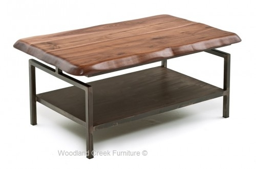 Stunning Wellknown Solid Wood Coffee Tables Intended For Contemporary Rustic Coffee Tables Live Edge Solid Wood Coffee (Image 45 of 50)