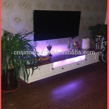 Stunning Wellknown TV Stands With LED Lights Regarding Wholesale New Modern Led Light Wooden Tv Stand And Tv Racks (Image 43 of 50)