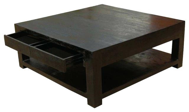 Stunning Wellknown Verona Coffee Tables In Coffee Table 37 Verona Espresso Square Coffee Table W Tile (View 17 of 50)