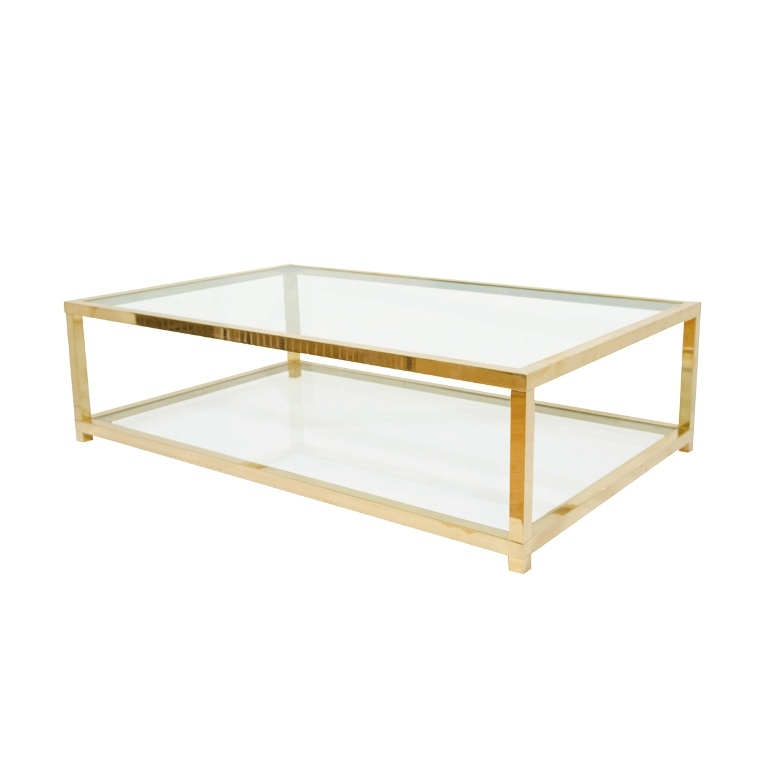 Stunning Wellknown Vintage Glass Coffee Tables Regarding Brass And Glass Coffee Table Modern And Vintage Table Designs (View 39 of 50)
