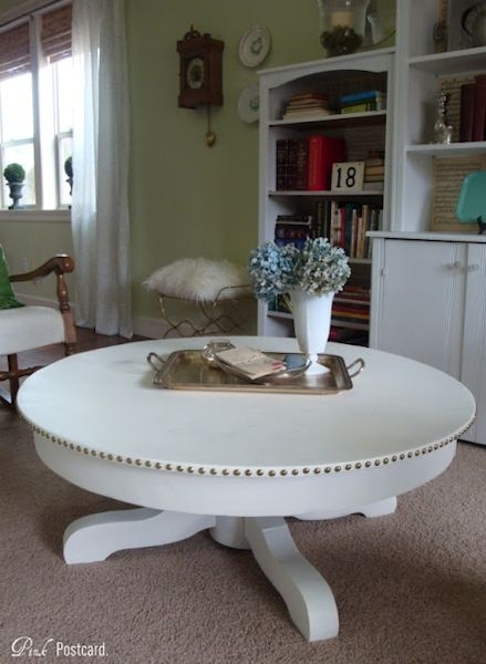Stunning Well Known White Circle Coffee Tables With Before After Eight Amazing Coffee Table Makeovers (Image 44 of 50)