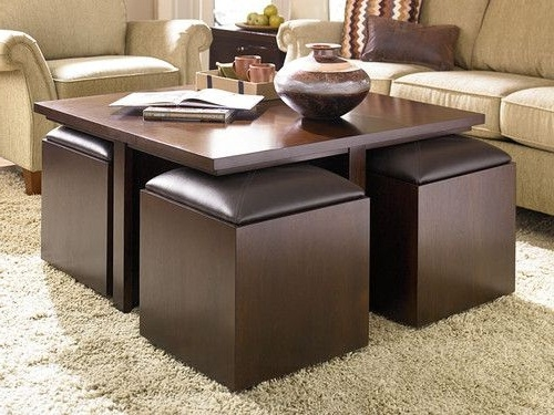 Stunning Wellliked Coffee Tables With Seating And Storage Regarding Coffee Table Marvellous Coffee Tables And Ottomans Design Ideas (Image 48 of 50)