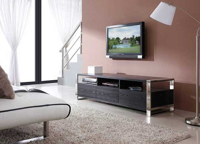 Stunning Wellliked Contemporary Black TV Stands Pertaining To Modern Black Tv Stand Bm4 Tv Stands (View 34 of 50)