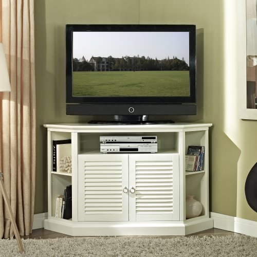 Stunning Wellliked Corner TV Cabinets Regarding Corner Tv Cabinet Amazon (Image 43 of 50)