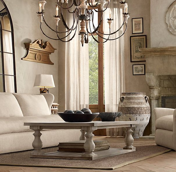 Stunning Wellliked Grey Wash Coffee Tables Within 17th C Monastery Coffee Table In Grey 695 For Small Size (View 42 of 50)