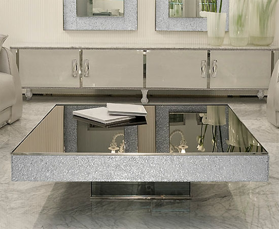 Stunning Wellliked Mirrored Coffee Tables Within Gold Mirrored Coffee Table (Photo 14 of 50)