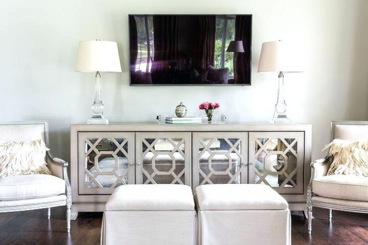 Stunning Wellliked Mirrored TV Stands Pertaining To Living Room Tv Stands Living Room Furniture Latest Modern Lcd (View 13 of 50)