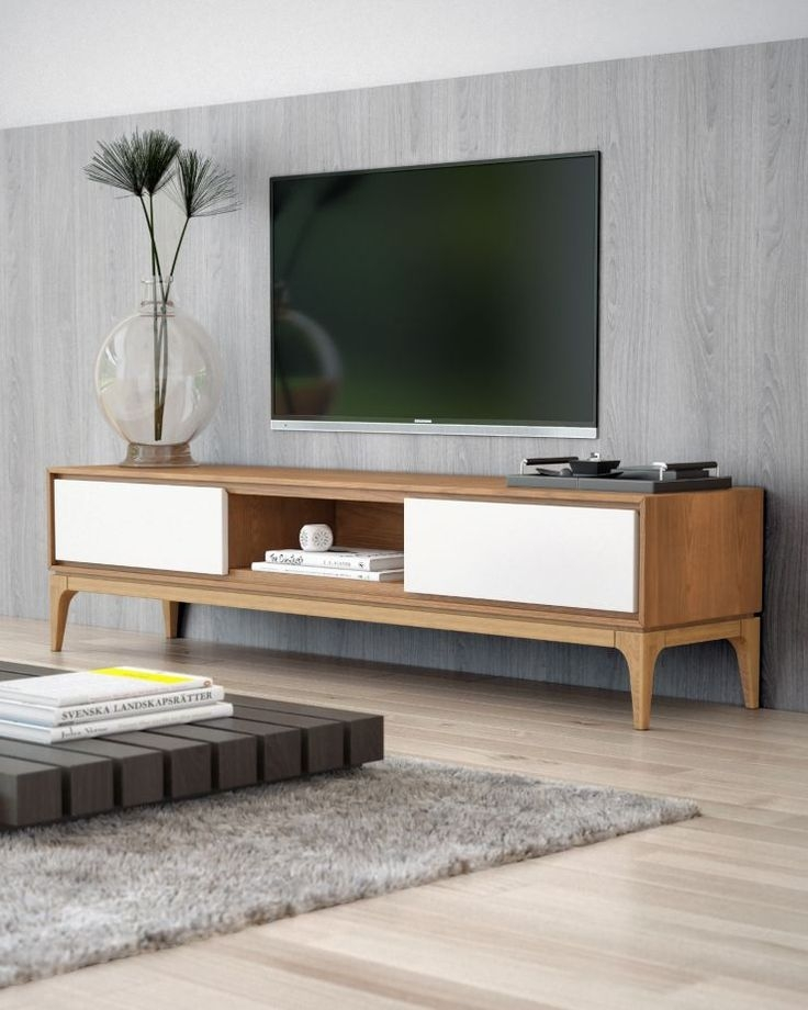 Stunning Wellliked Modern Low Profile TV Stands With Best 25 Contemporary Media Storage Ideas On Pinterest Modern (View 42 of 50)