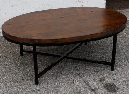 Stunning Wellliked Oval Wooden Coffee Tables In Wood Oval Coffee Tables Jerichomafjarproject (Image 45 of 50)