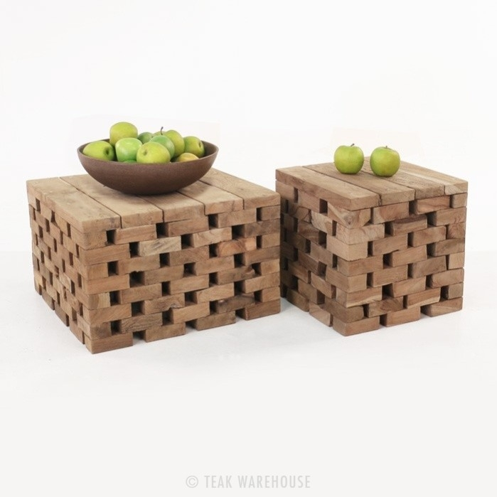 Stunning Wellliked Puzzle Coffee Tables With Puzzle Reclaimed Teak Coffee Tablesaccessories Teak Warehouse (View 25 of 40)