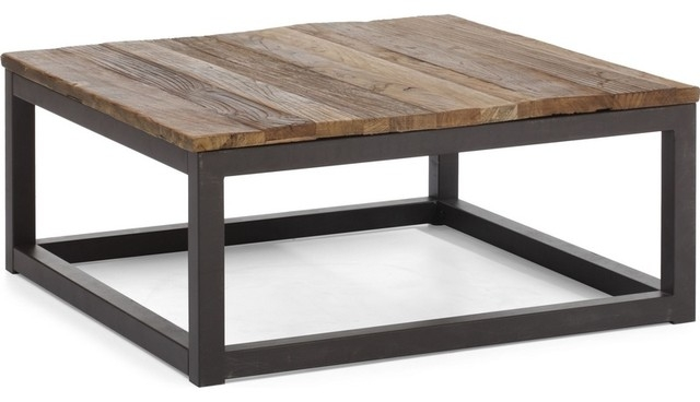 Stunning Wellliked Reclaimed Wood And Glass Coffee Tables In Elegant Square Wood Coffee Table Coffee Table Square Reclaimed (View 24 of 50)