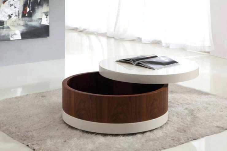 Stunning Wellliked Round Coffee Table Storages Pertaining To Small Coffee Table With Storage Dealhackrco (Image 46 of 50)