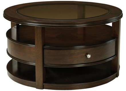 Stunning Wellliked Round Coffee Tables With Storage Intended For Storage Coffee Table Round Jerichomafjarproject (View 50 of 50)
