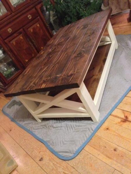 Stunning Wellliked Rustic Coffee Tables With Bottom Shelf Regarding Top 25 Best Farmhouse Coffee Tables Ideas On Pinterest Farm (View 44 of 50)