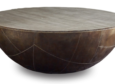 Stunning Wellliked Solid Round Coffee Tables Pertaining To Wood Round Coffee Tables Jerichomafjarproject (Image 37 of 40)