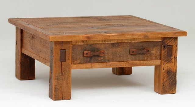 Stunning Wellliked Square Coffee Tables With Storages Intended For Inspiring Square Rustic Coffee Table Rustic X Coffee Table Rustic (Image 48 of 50)