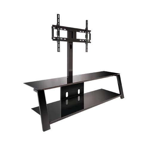 Stunning Wellliked TV Stands With Mount Pertaining To Bello Triple Play Tv Stand With Swivel Mount For 70 Inch Screens (Image 43 of 50)